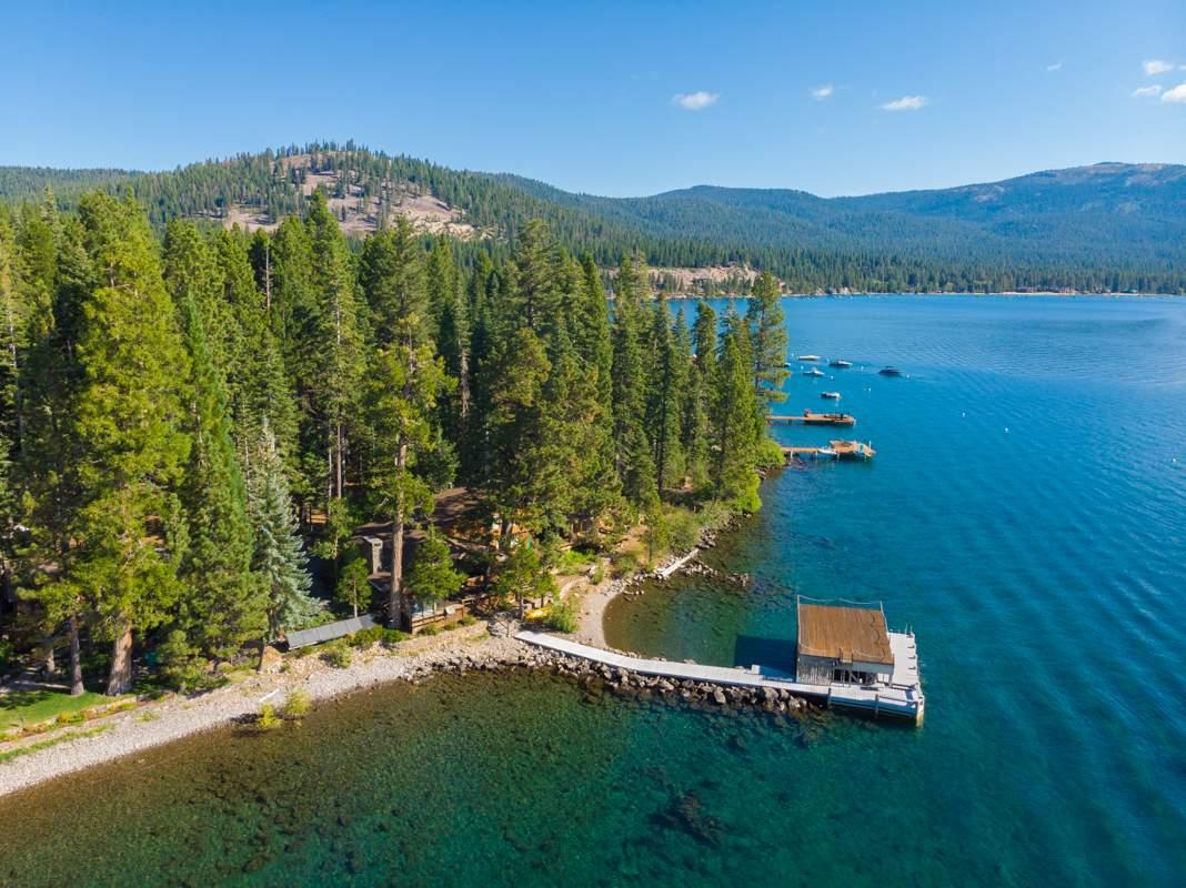 Tahoe Rock-Cribbed Pier